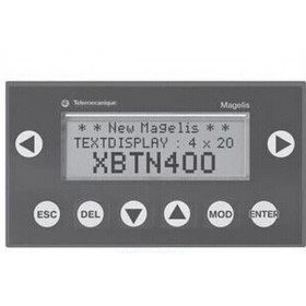 XBTN400 HMI Text 122*32 5VDC Green with Touchscreen and Keypad New