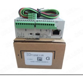 DVP12SE11R Delta SE Network PLC DI 8 DO 4 Relay 24VDC new in box