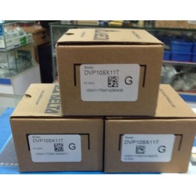 DVP10SX11T Delta SX series Analog PLC DI4 AI2 DO2 AO2 Transistor 24VDC new in box