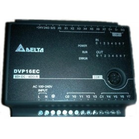 DVP16EC00R3 Delta EC3 Series Standard PLC DI 8 DO 8 Relay 100-240VAC new in box