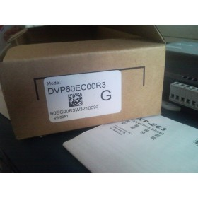 DVP60EC00R3 Delta EC3 Series Standard PLC DI 36 DO 24 Relay 100-240VAC new in box