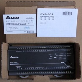 DVP60EC00T3 Delta EC3 Series Standard PLC DI 36 DO 24 Transistor 100-240VAC new in box