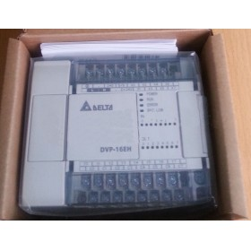 DVP16EH00R3 Delta EH2/EH3 Series PLC DI 8 DO 8 Relay output 100-240VAC new in box