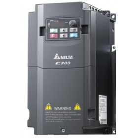 VFD007CB43A-21M Delta C200 input AC 3ph 380V 2.9A 0~600Hz 0.75KW 1HP Inverter VFD AC Motor Drive Enhanced case model with Keypad New