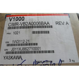 CIMR-VB2A0006BAA VFD inverter input 3ph 220V output 3ph 0~240V 5A 0.75KW 0~400Hz New