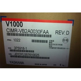 CIMR-VB2A0030FAA VFD inverter input 3ph 220V output 3ph 0~240V 25A 5.5KW 0~400Hz New