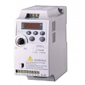 VFD007L21A DELTA VFD-L VFD Inverter Frequency converter 750W 1HP 1PHASE 230V 400hzfor small horsepower motors