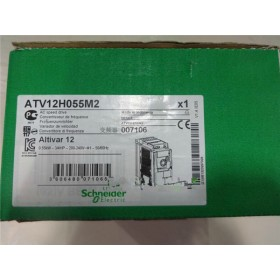 ATV12H055M2 VFD Inverter Input 1ph 220V Output 3ph 220~240V 3.5A 0.5~400Hz 0.55KW 0.75HP NEW