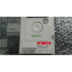 ATV303H075N4 VFD Inverter Input 3ph 380V Output 3ph 380~460V 2.3A 0.5~400Hz 0.75KW NEW