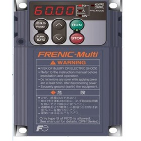 FRN0.4E1S-4C FRENIC-Multi 400V Three-phase 3phase 1.5A 0.4KW Inverter VFD frequency AC drive