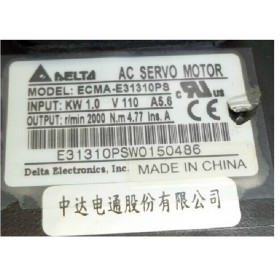 ECMA-E31310PS 220V 1KW 4.77NM 2000rpm 130mm with Keyway Detla AC Servo Motor New