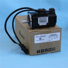220V 200W 0.64NM 3000rpm 60mm ECMA-C20602RS Delta AC Servo Motor with Keyway Oil Seal New