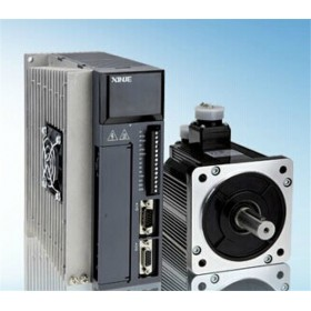MS-110ST-M05030B-41P5+DS2-41P5-AS 380VAC 1.5KW 5NM 3000rpm AC Servo Motor Drive kits Keyway with 3M cable