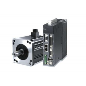 ECMA-C30804R7+ASD-A0421-AB 220V 400W 1.27NM 3000RPM 80mm Delta AC Servo Motor Drive kits 2500ppr with 3M cable