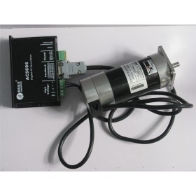 Brushless DC Servo Motor Dirve Kit 180W Square Flange 6.7A 0.57NM 3000RPM 18~60VDC BLM57180-1000+ACS606