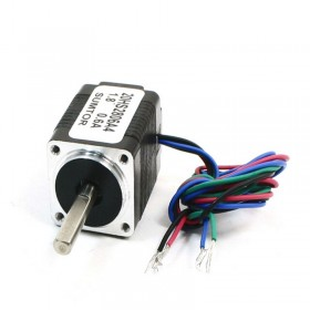20HS2806A4 20BYG 2ph Hybrid stepper motor 4-lead 1.4N.cm 0.6A Nema8 L 28mm