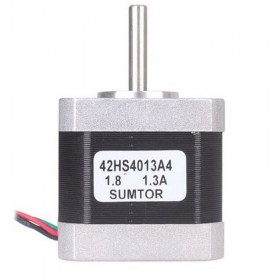 42HS4013A4 42BYG 2ph Hybrid stepper motor 4-lead 0.4NM 1.3A Nema17 L 40mm CNC engraving