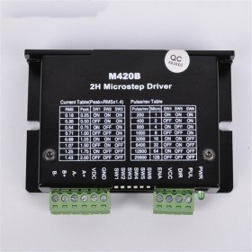 M420B 20 28 42mm stepping motor 128 microstep driver 2ph DC18-40V 2A