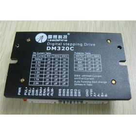 DM320C Leadshine CNC Stepper Drive 2ph 0.5~2A 18~30VDC Good for Low Speed Matching Nema14 15 17 Motor
