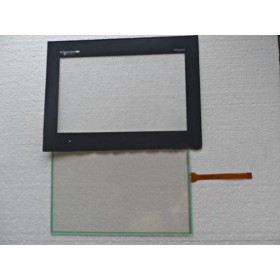 "HMIGXO3501 Magelis Touch Glass Panel+Protective Film 7"" Compatible"
