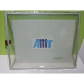 "AMT9539 AMT 9539 17.1"" 8 Wire Resistive Touchscreens Glass Panel Original"
