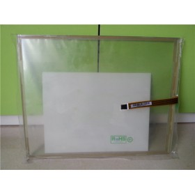 "AMT2512 AMT 2512 17.1"" 5 Wire Resistive Touchscreens Glass Panel Original"