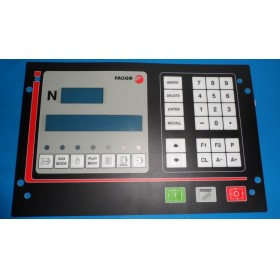 CNC101 FAGOR Key button membrane for CNC system