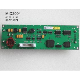 MID2004 00.781.2196 00.781.4974 Heidelberg Feeder LCD Module MID-2004 BAU Compatible Display for CD/SM102 PM/SM74 MO/SM52 presses