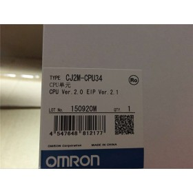 CJ2M-CPU34 PLC CPU Unit new in box