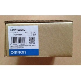 CJ1W-DA08C PLC Analog output unit new in box