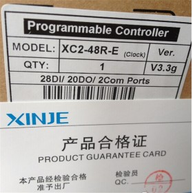 XC2-48R-E XINJE XC2 Series PLC AC220V DI 28 DO 20 Relay new in box