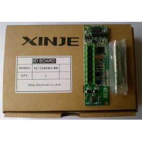 XC-2AD2DA-BD XINJE XC Series PLC BD Board AI2 AO2 new in box