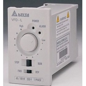 VFD001L21A DELTA VFD-L VFD Inverter Frequency converter 100W 1PHASE 230V 400hzfor small horsepower motors