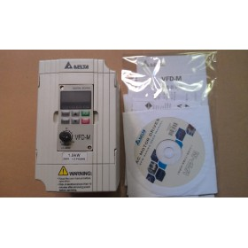 VFD015M21A DELTA VFD-M VFD Inverter Frequency converter 1.5kw 2HP 1PHASE 220V 400HZ for Small processing machinery