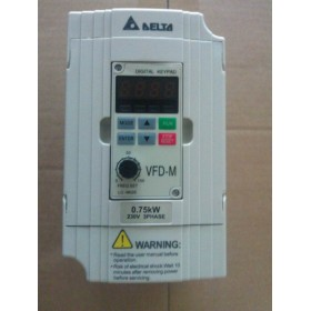 VFD007M23A DELTA VFD-M VFD Inverter Frequency converter 750w 1HP 3PHASE 220V 400HZ for Small processing machinery
