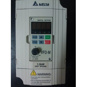 VFD015M23A DELTA VFD-M VFD Inverter Frequency converter 1.5kw 2HP 3PHASE 220V 400HZ for Small processing machinery