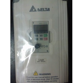 VFD055M23A DELTA VFD-M VFD Inverter Frequency converter 5.5kw 7.5HP 3PHASE 220V 400HZ for Small processing machinery
