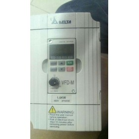 VFD015M43B DELTA VFD-M VFD Inverter Frequency converter 1.5kw 2HP 3PHASE 380V 400HZ for Small processing machinery