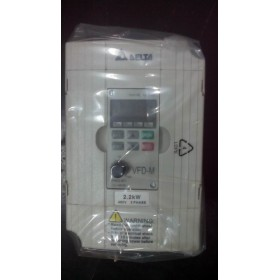 VFD022M43B DELTA VFD-M VFD Inverter Frequency converter 2.2kw 3HP 3PHASE 380V 400HZ for Small processing machinery