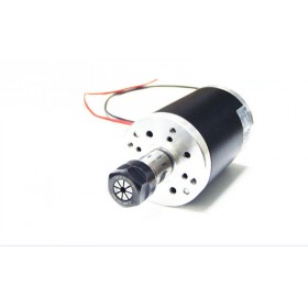 350W 0.35kw ER16 DC Brushed Spindle Motor Nature cooling 10000RPM DC24V DIY CNC Engraving Drilling milling