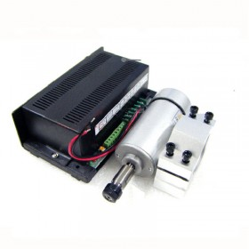 0.3kw 300w ER11 3000-12000RPM DC Brushed spindle motor&MACH3 speed controller power supply&mount bracket CNC DIY kits