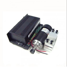 0.4kw 400w ER11 2000-12000RPM DC Brushed spindle motor&MACH3 speed controller power supply&mount bracket CNC DIY kits