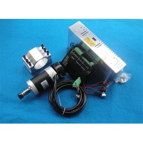 400w ER11 12000RPM BLDC spindle motor&PWM MACH3 Driver controller&switch power supply&mount bracket CNC DIY kits