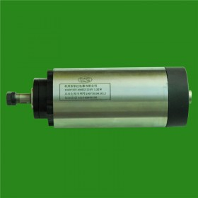 1.5HP 1.2kw 24000RPM ER11 Woodworking AC Spindle motor 4 bearings 80mm 220VAC 8A 400HZ air cooling CNC Router