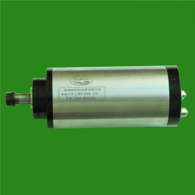 2HP 1.5kw 24000RPM ER11 water cooling Woodworking AC Spindle motor 80mm 4 bearings 220VAC 8A 400hz CNC Router