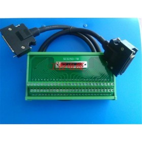 JUSP-TA50P 50pin terminal blocks with 1m CN1 cable for Yaskawa AC servo motor drive