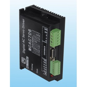 30W-200W 24V-70VDC Full closed loop digital AC servo driver JMC MCAC706