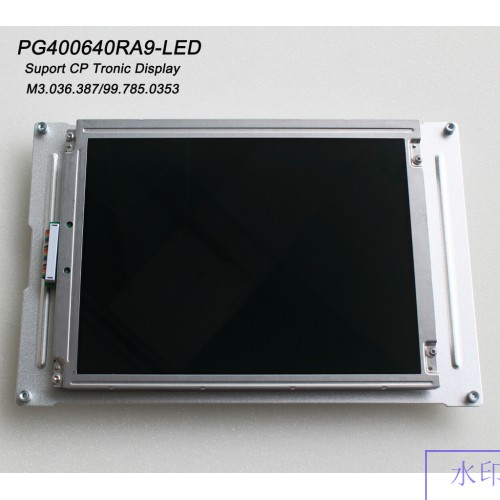 "PG400640RA9-LED M3.036.387 00.785.0353 Heidelberg 9.4"" CP Tronic Display Compatible LCD panel for CD/SM102 PM/SM74 MO/SM52 presses new"