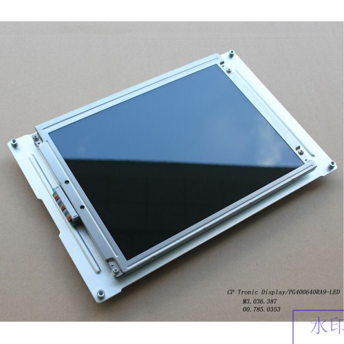"MD400F640PD1A MD400F640PD2A Heidelberg 9.4"" CP Tronic Display Compatible LCD panel for CD/SM102 PM/SM74 MO/SM52 presses new"