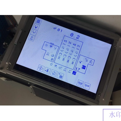 "PG640400RA4 Heidelberg 9.4"" CP Tronic Display Compatible LCD panel for CD/SM102 PM/SM74 MO/SM52 presses new"